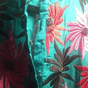 Dresses - Tunic hand made from India small multicolor